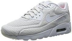 Nike Air Max 90 Grau Wildleder susanne