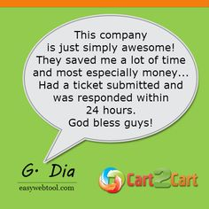 Thinking of website migration? Check up what people say about Cart2Cart #testimonials