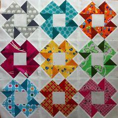 3D quilt blocks