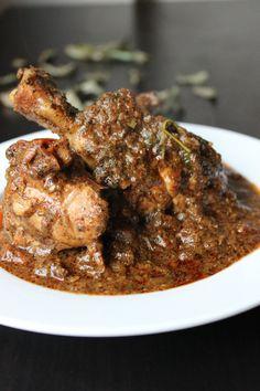 Curryleaves chicken