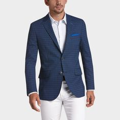 Buy a Tailorbyrd Blue Plaid Slim Fit Sport Coat online at Men's Wearhouse. See the latest styles of men's Sport Coats. FREE Shipping on orders $99+.
