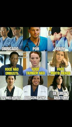 Brigada😘 obs: Faltou a Lexie e o Mark♥️ Greys Anatomy Callie, Greys Anatomy Facts, Supergirl, Grey's Anatomy Mark, Cristina Yang, Meredith Grey, Heart Anatomy, Imagine Dragons, Series Movies