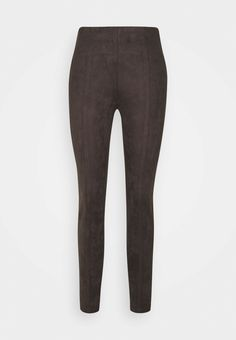 comma Nahkahousut - chocolate/tummanruskea - Zalando.fi Pants, Chocolate, Fashion, Leather Trousers, Trouser Pants, Moda, Fashion Styles, Women Pants, Chocolates