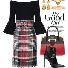 Skirts 4691 by boxthoughts on Polyvore featuring Alexis, Oscar de la Renta, Balmain, Prada, Argento Vivo, Neiman Marcus and BERRICLE