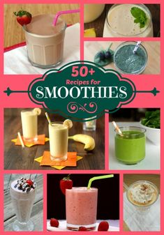 50+ Recipes for Smoothies | cupcakesandkalechips.com | #smoothie #smothies #smoothierecipes #glutenfree #vegan