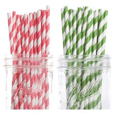 Stylist's Tip: Color-coordinate your parties with these stylish paper straws, perfect for transforming neighborhood get-togethers into retro sock hops. Displ...