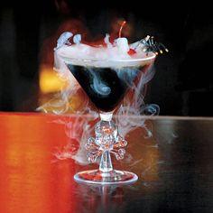 {Haunting Halloween Cocktails}