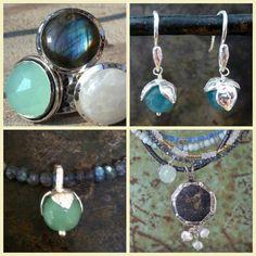 Prachtige groen en blauw tinten van JEH jewels