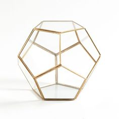 Terrarium en verre et métal, Uyova