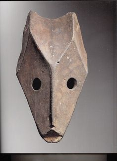 Ogoni mask from - A Book Report - Arts of Nigeria by Helene Joubert.