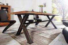 Luxusný nábytok REACTION: Jedálenský stôl z masívneho dreva