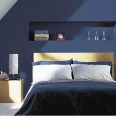 bedroom A blue bedroom