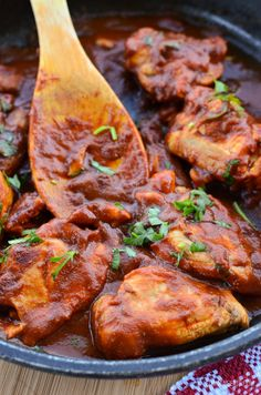 Delicious rich tomatoey Diet Coke Chicken - yum!! I used to make diet coke chicken quite often when I was doing the Weight Watchers diet a few years back.