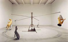Bruce Nauman, Fondation Cartier pour l'art contemporain, du 15 mars au 21 juin 2015 / Courtesy Glenstone