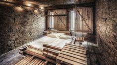 roh, rau, rustikal: Das Wiener Gästebett - reduziertes Hotelmarketing aus #Wien