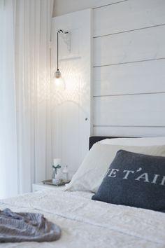 Master bedroom. Honka Harmonia.
