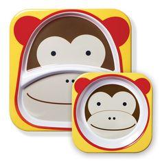 Melamine : Set Macaco com 2 peças