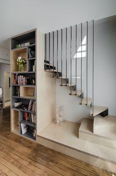 Réhabilitation appartement paris | atelier MEP