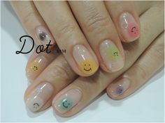ZOZOPEOPLE | Dot+LIM nail - ◎ネイル