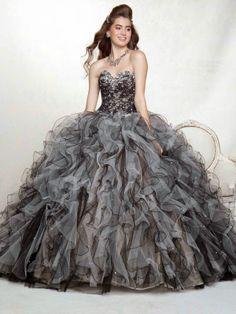 Fabulosos vestidos de 15 años   Moda y tendencias