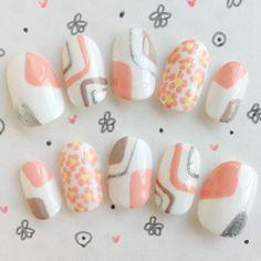 pastel -- asian inspired nail art