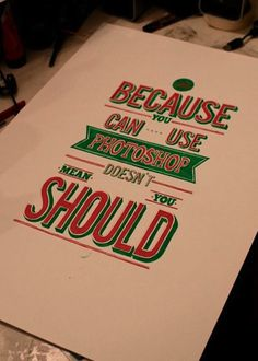 Creative Neards 5 #poster #design #inspiration #truth