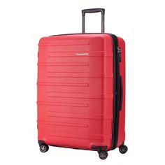 """Ostkreuz - Koffer Hartschale Rot matt, TSA, 77 cm, 126 Liter; Roter #Rollkoffer aus der Serie """"Ostkreuz"""" von #Hauptstadtkoffer.  #Hartschalenkoffer #Rot #Rollkoffer #Trolley #Koffer #Travel #Luggage #Reisen #Urlaub #red #rouge => mehr Rote Koffer: https://hauptstadtkoffer.de/de/catalogsearch/result/index/?color=26&limit=90&q=Rot"""