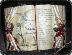 libro scultura per cresima Book Folding, Genere, Handmade Books, Old Books, Quilling, Diy Crafts, Display, Cookies, Paper