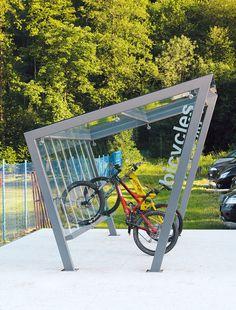 edge Marquesina para bicicletas de mmcité | Refugios para bicicletas