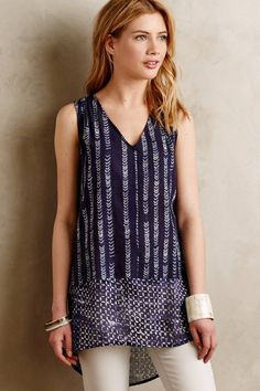 Batik Tunic - anthropologie.com