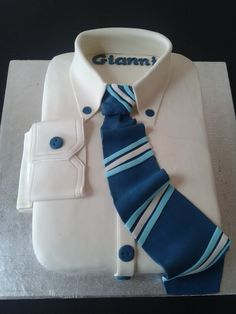 Come realizzare una Torta camicia,Cake Decorating White Collar Pride Cake Fondant Man, Fondant Cakes, Fancy Birthday Cakes, Shirt Cake, Valentines Day Cakes, Barbie Cake, Gents Fashion, Dress Cake, Cakes For Men