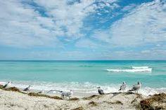 Beautiful white sand