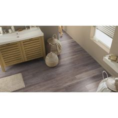 "Lame PVC clipsable Tarkett Starfloor Click 30 ""Cerused Oak Brown"" 