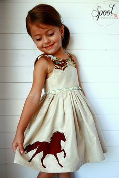 Größe 1 und 12 Jahren Mädchen Kleid PDF Sewing von ainsleefox