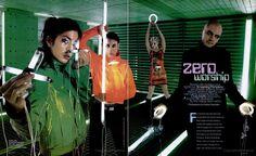 'Zero Worship' - Article on Smashing Pumpkins (SPIN Magazine - June Wild Girl, Cyberpunk Fashion, No Rain, Matrix, Cybergoth, 2000s Fashion, Retro Futurism, Cool Girl, Fashion Photography