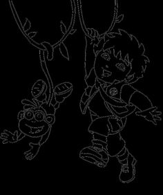 67 Best Dora Images On Pinterest Coloring Pages The Explorer Boots And Diego Suspended