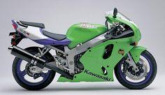 1997 Kawasaki ZX7-R / My 3rd