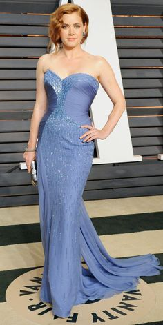 021977d6acb3 Amy Adams's Red Carpet Style - In Versace, 2015 - from InStyle.com Amy
