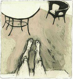 Drawing. Illustration. Сomic strip. Graphic art.  by Lilya Kouhan