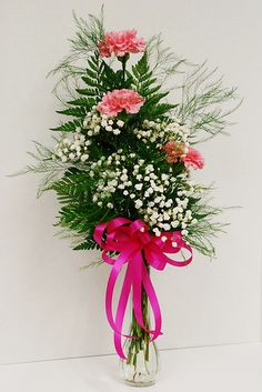 Lisa's carnation bud vase