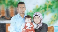The victims from the Dawabsheh family: Father Saed, mother Reham and baby Ali (Photo: Hassan Shaalan)