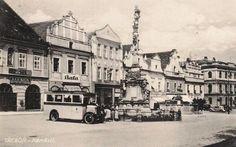 Třeboň náměstí Czech Republic, Prague, Street View, Places, Bohemia, Lugares