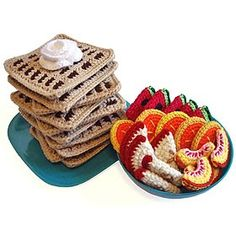 Todo sobre mi: Comida en crochet