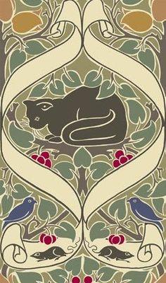 "chasingthegreenfaerie: "" (via (1) Chat = cat | Art and Illustration | Pinterest) """