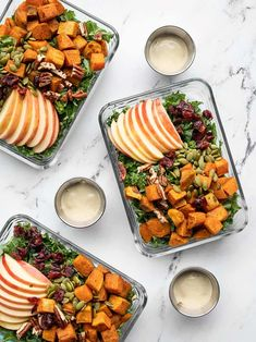 Kale Sweet Potato Salad, Healthy Meal Prep, Healthy Recipes, Sweet Pumpkin Seeds, Winter Salad, Meal Prep Containers, Sweet Tarts, Roasted Sweet Potatoes, Food For Thought