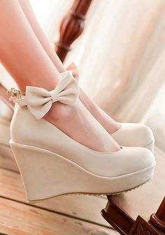 92aeb776982 Available Sizes   Heel Height   Platform Height   Heel Height   High Heel  Type   Wedges Boot Shaft   Ankle Color   Beige Toe   Round Shoe Vamp   PU  Leather ...