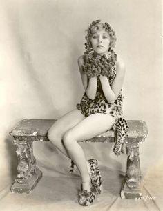 vintagemarlene:  1920s leopard girl