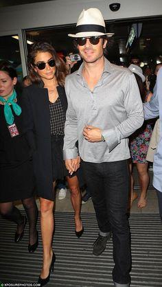 Ian Somerhalder e Nikki Reed a Cannes