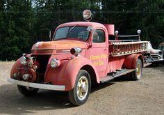 C.1937 International Fire Truck