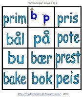 FredagsKilden: NORSK - Undervisningsmateriell 1-17 Bingo, Grammar, Nye, Language, Education, Tips, Teaching Ideas, Barn, Jars
